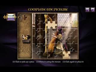 The Stone Queen - Mosaic Magic - Screen 2
