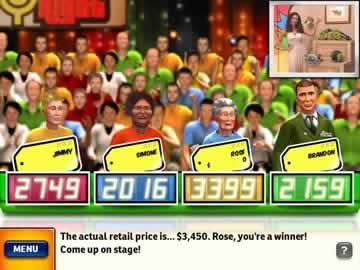 The Price is Right - Screen 1