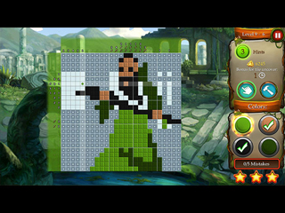 Time Twins Mosaics - Tales of Avalon - Screen 1