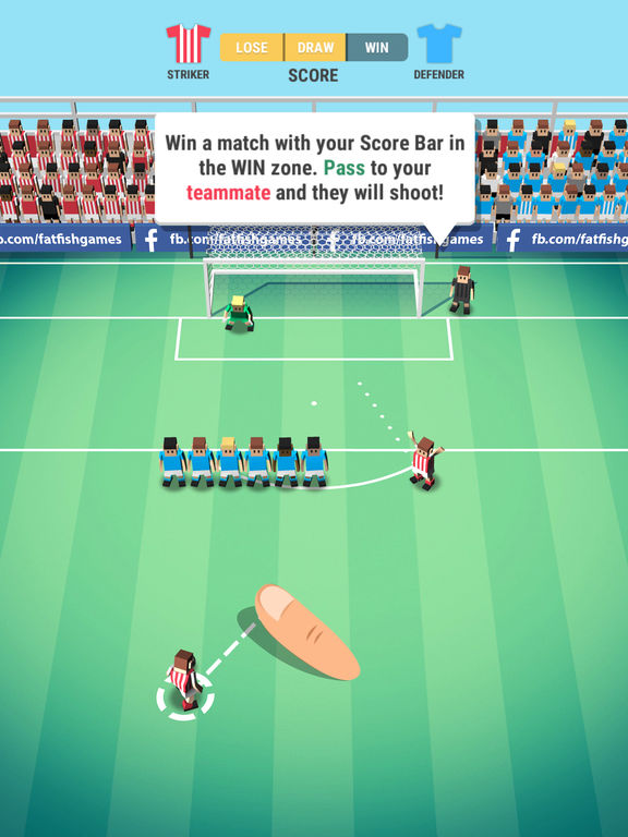 Tiny Striker: World Football - Screen 1