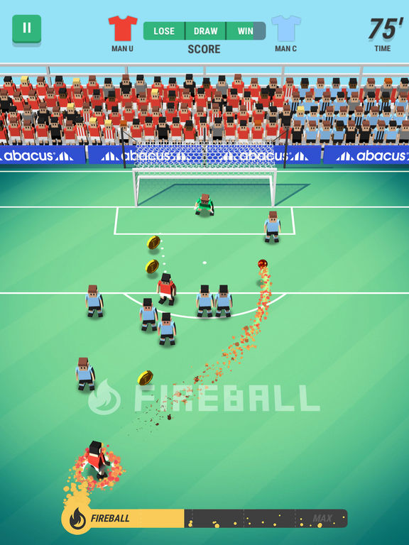 Tiny Striker: World Football - Screen 2
