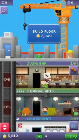 Tiny Tower - Screen 1