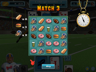 Touch Down Football Solitaire - Screen 2