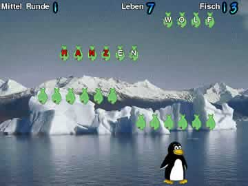 Tux Typing - Screen 1