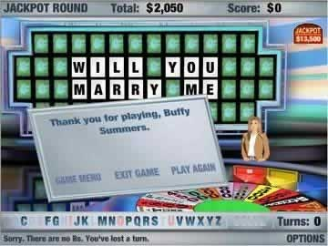 Wheel of Fortune - Screen 1
