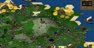 Widelands - Screen 1