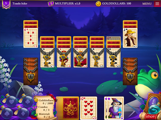 Wizards Quest Solitaire - Screen 2