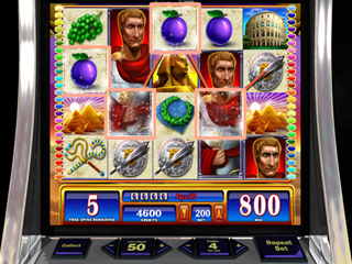 WMS Slots: Rome & Egypt - Screen 1