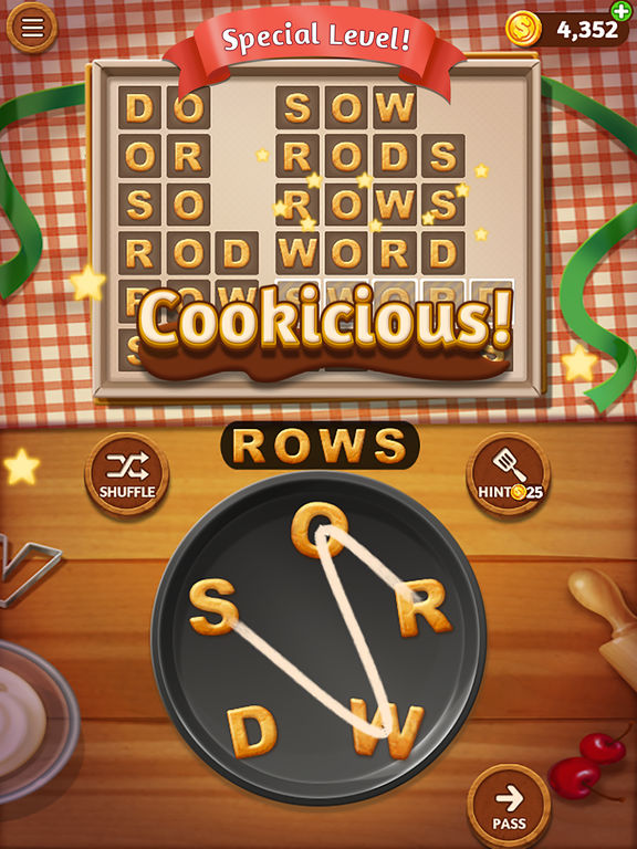 Word Cookies - Screen 2
