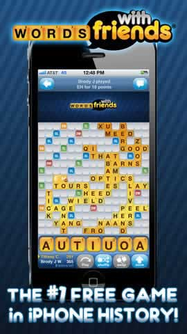 Words With Friends Free - Screen 1
