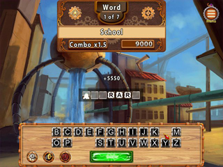 Words with Gizmos - Screen 1