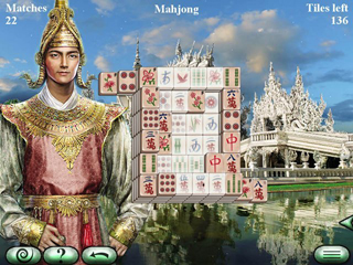 World's Greatest Temples Mahjong 2 - Screen 1