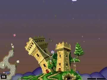 Worms world party game download and play free version worms world party screen 2 gumiabroncs Choice Image