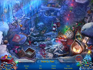 Yuletide Legends: Frozen Hearts Collector's Edition - Screen 1