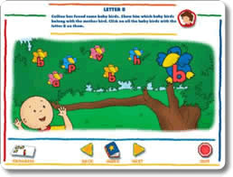 Caillou Preschool - Alphabet, Colors, & Shapes
