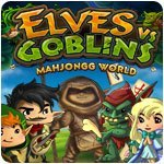 Elves vs Goblins Mahjongg World