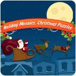 Holiday Mosaics Christmas Puzzles