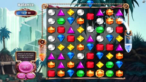 Bejeweled 3 Balance Mini Game